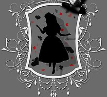 Stuck inside the Looking Glass by AllMadDesigns