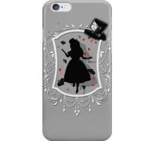Stuck inside the Looking Glass iPhone Case/Skin