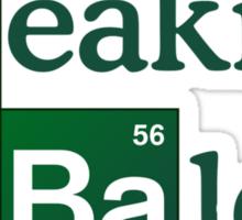 Breaking Bald Sticker