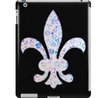 Fleur De Lis Watercolor Design iPad Case/Skin