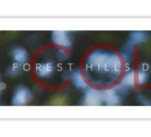 J. Cole 2014 forest hills drive Sticker