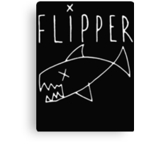 Flipper (Kurt Cobain) Canvas Print