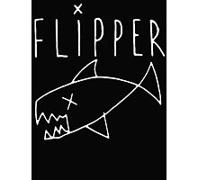 Flipper (Kurt Cobain) Photographic Print