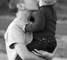 Big brother kisses by Tanya Wallace