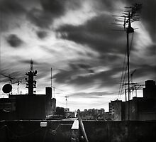 A Moving Sky Over Our City by Tony Elieh