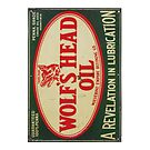 Vintage Motor Oil sign by thatstickerguy