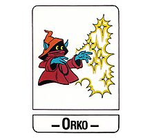 He-Man - Orko - Trading Card Design Photographic Print