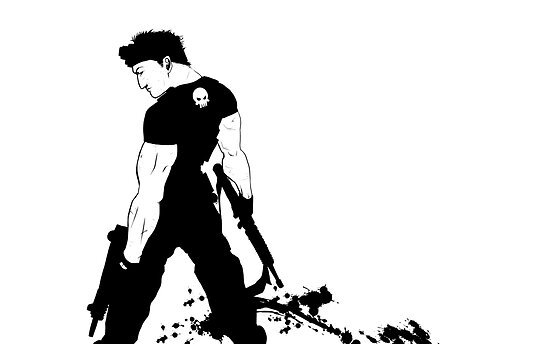 """""""Pain For The Wicked"""" - Punisher by Logan French"""