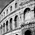 Colliseum in Pula, Coatia by Trish Hamilton