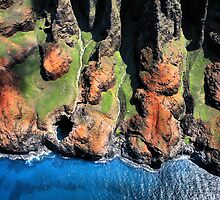 Na Pali Coast, Kauai, Hawaii by Philip James Filia