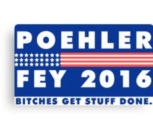 POEHLER + FEY 2016 Canvas Print