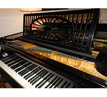 Bechstein Mini Grand Piano - Keyboard Close-up Photographic Print