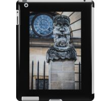 Comical Statue at Oxford University iPad Case/Skin