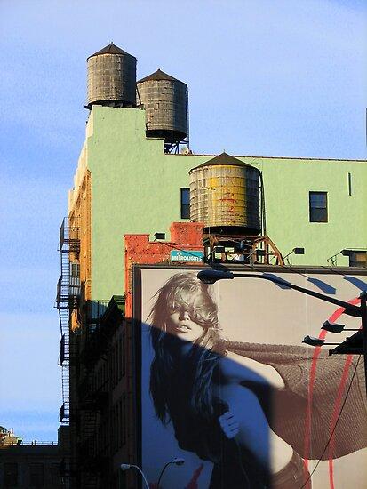 NYC Back Street Vision by JanG