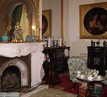 Fireplace at Werribee Mansion by VENUSC1