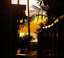 Urban sunset by Wanagi Zable-Andrews
