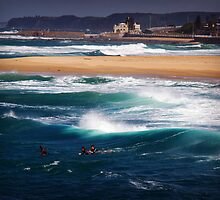 Newcastle waters by Wanagi Zable-Andrews
