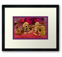 While Harri is away, the toys will play Framed Print