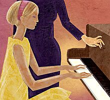 The Piano Lesson by NicoleKidwoman