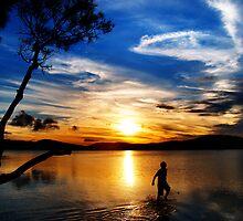 Myall Lakes by Wanagi Zable-Andrews
