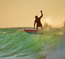 Surfin' the Sunrise by AdamDonnelly