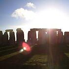 Sunset on Stonehenge by phoenixreal