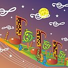 Music City In Space by hannu