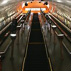 London Tube by adamgrell