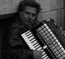 Accordian Man by Rachael Lynch