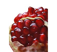 Pomegranate Seeds Photographic Print