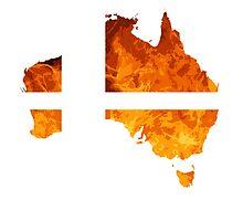 Australian Smash Ball by BRPlatinum