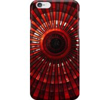 Red rises of the dome iPhone Case/Skin