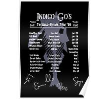 The Indigo-Go's Tour - Signed! Poster