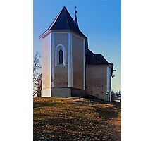 The village church of Hollerberg IV   architectural photography Photographic Print