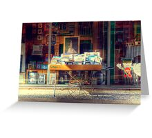 Frames on Wheels Greeting Card