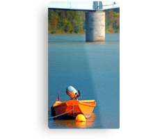 Boat on the river | landscape photography Metal Print