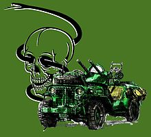 Special Forces Truck  by olivercook