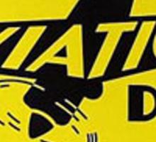 400 Aviation Dry Gasoline Sticker