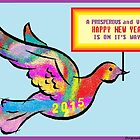 2015 New Year's Card by Jana Gilmore