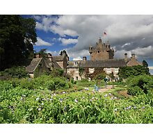 Cawdor Castle and Garden Photographic Print