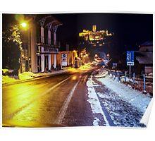 Nürburg by night #2 Poster