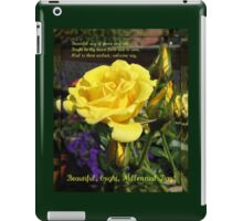 Beautiful, Bright, Millennial Day iPad Case/Skin