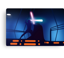 Your Destiny Lies with Me, Skywalker Canvas Print