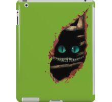 Alice in Wonderland - Cat surprise iPad Case/Skin