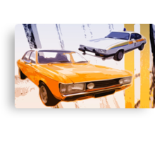 Cops & Robbers Canvas Print