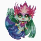 Chibi River Spirit Nami by Pixel-League