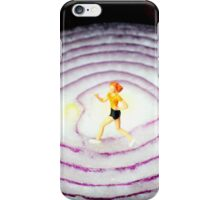 Running On Red Onion iPhone Case/Skin
