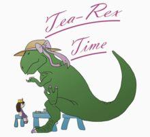 Tea-rex Time Kids Clothes