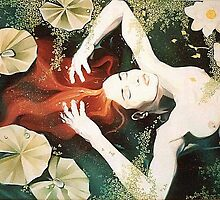 Ophelia by vickymount