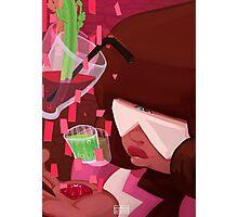 Steven Universe: Garnet's Drinks Photographic Print